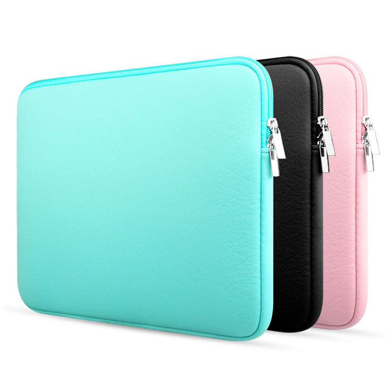 Laptop Notebook Sleeve Case Bag Cover For MacBook Air/Pro 11/13/15 inch PC