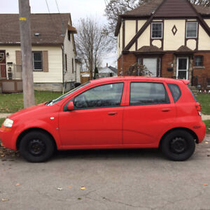 2007 Chevrolet Aveo *SELLING AS IS*  $1400/OBO
