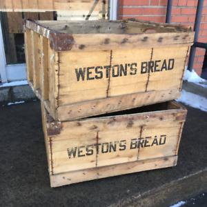 """#Weston""""s  #Bread  #scandle #Crates"""