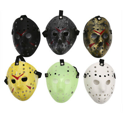 Halloween Party Mask Jason Voorhees Friday costume Horror Movie Cosplay Ho TDO
