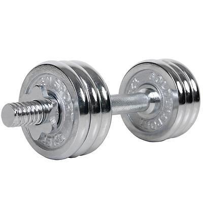 10 kg Kurzhantel Hanteln Set Gewichte Hantelscheiben Hantelset Chrom Hantel Neu (Kurzhantel-set Chrom -)