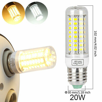 100W Equivalent LED Bulb Lamp Corn Light E26 E27 2000lm 20W Cool & Warm White
