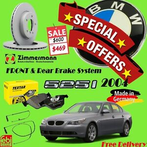 SPECIAL OFFER FOR Brake System Package- BMW-525i-2004 Cambridge Kitchener Area image 1