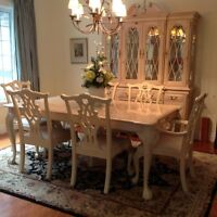 Complete Dining Room Set with Buffet/Hutch and Server