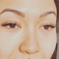 Eyelash extensions. Top artist