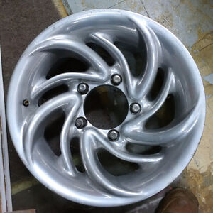 """Aluminum 15x7""""- 5 on 5""""Ford - most Suzuki, Sunrunner, Tracker North Shore Greater Vancouver Area image 1"""