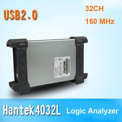 Hantek La-4032l Pc Usb Virtual Logic Analyzer 32ch Bandwidth 150 Mhz 2g Memory