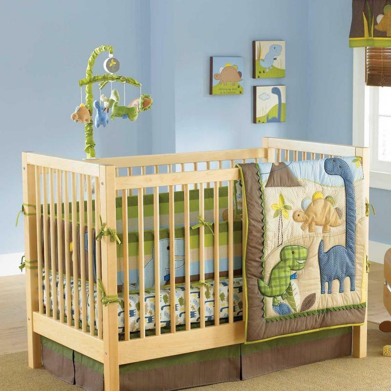 Baby bedding collection on ebay - Boys room dinosaur decor ideas ...