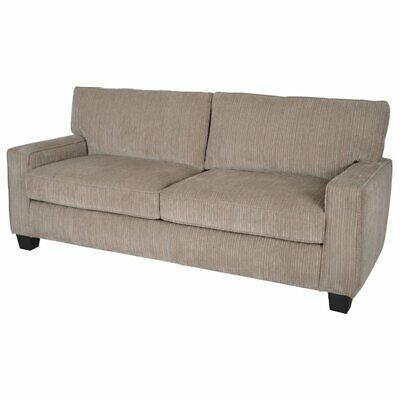 palisades 72 deep seating sofa in beige