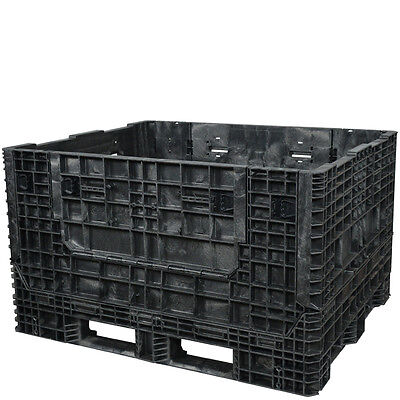 Duragreen 57 X 48 X 34 Extended Length Collapsible Bulk Container 2 Doors