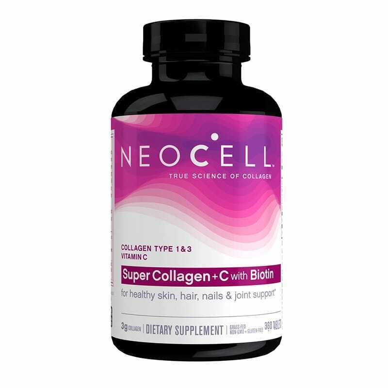 NEOCELL SUPER COLLAGEN + C with BIOTIN 360 TABLET EXP 01/22