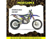 Sherco SEF 450 Factory 2022 Model - Nil Deposit Finance Available
