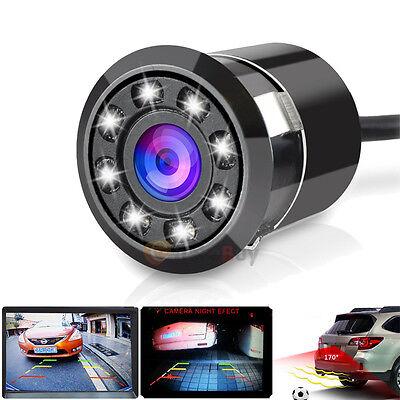 170° CMOS 8 LED Car Rear View Backup Parking Camera HD Night Vision Waterproof