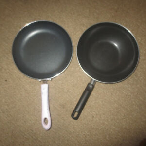 FRYING PANS-LIKE NEW!