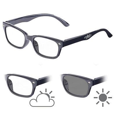 Brillen: Selbsttönende Lesebrille mit UV-Schutz 400, +2,0 Dioptrien