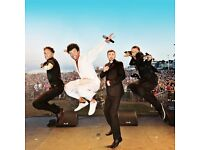 4 x Tickets Re-Take That NO 1 World Tribute To Take That with Band and Dancers