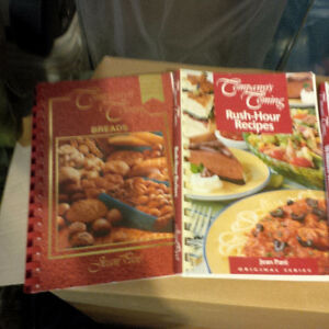 Cookbooks -Company's Coming & others