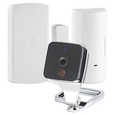 WiFi Cam: WLAN-IP-Überwachungskamera mit Bewegungsmelder & Fenster- / Türsensor