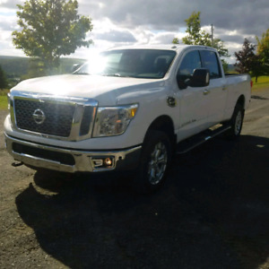 2016 Nissan titan with Cummings
