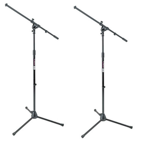 On-Stage MS7701B Mic Stands Tripod Euro Boom Microphone Stan