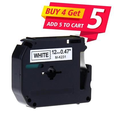 M-k231 Compatible Brother P-touch Label Tape Pt-65 Label Maker 12mm World Cup