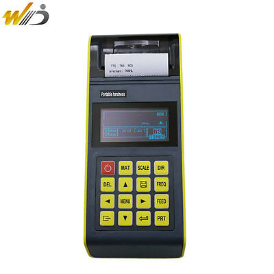 Portable Digital Rebound Leeb Hardness Tester Hardness Gauge Calibrate Block