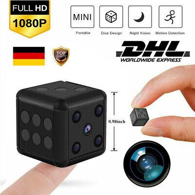 DE Mini Kamera Wireless 1080P HD Überwachungkamera Hidden Spion Camera Spycam ()