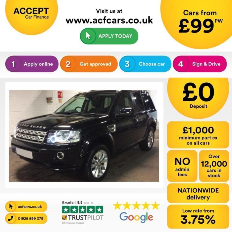 Land Rover Freelander 2 FROM £99 PER WEEK!