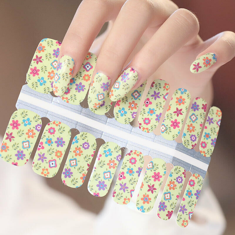 Nail Wraps Multi Colors and Patterns New In Package US Company