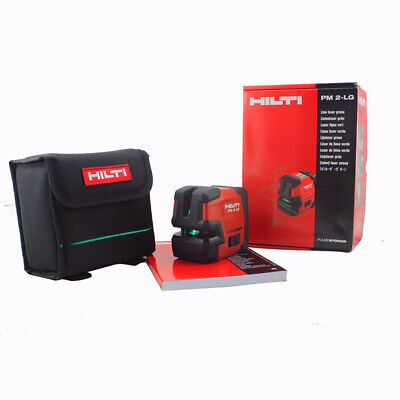 Hilti Pm 2-lg Laser Level Line Laser Laser Line Projectors Green Laser Line