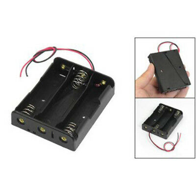 For 3x18650 3.7v With Wire Leads Plastic Battery Storage Box Holder Ass