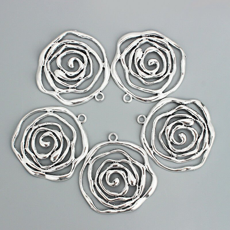 HooAMI 1 Box About 770pcs Stainless Steel Open Jump Rings 3mm-10mm Diameter
