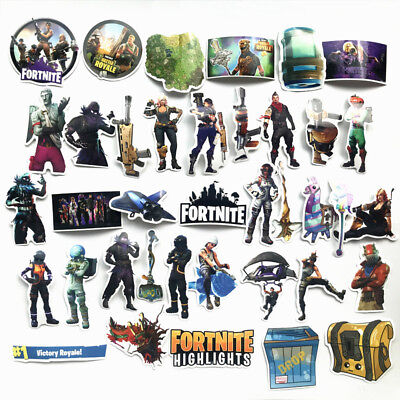 Home Decoration -  104PC Fortnite Stickers (Variety Pack, Waterproof)--Good Quality,Free Shipping!