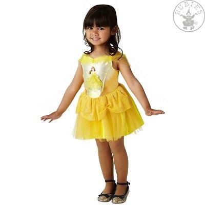 RUB 3510583 Belle Ballerina Disney Prinzessin Kinder Kostüm Die schöne das Biest (Disney Prinzessin Belle Kostüme)