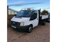 60 Ford Transit Tipper T350 100BHP, Alloy body, 124,000miles, 1owner, Elec windo