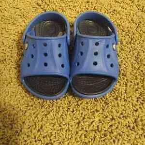 Crocs - boys sandals - size 6-7