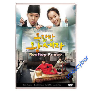 Rooftop Prince (5 DVD) Korean Drama Excellent English Subs & Quality.