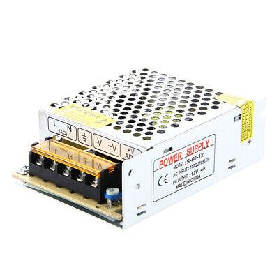 Transformador electronico de LED de 50W 4A 100-220V AC a 12V DC...