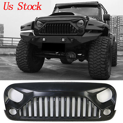 Upgrade Angry Bird Front Grill Grille For Jeep Wrangler 07-17 JK & Unlimited