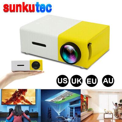 Portable YG300 1080P Mini Home Theater Cinema USB HDMI AV SD LED Projector lot