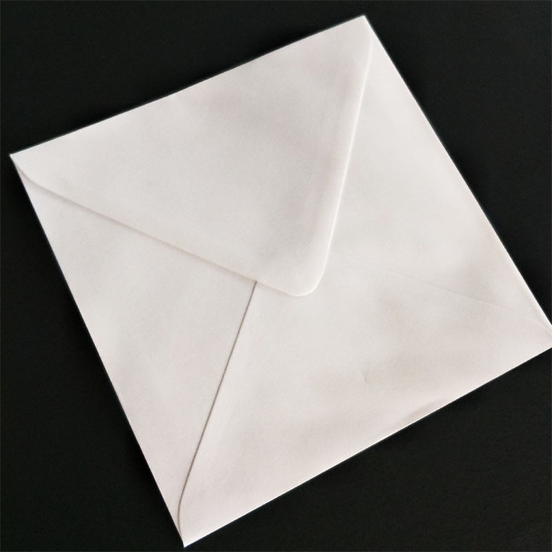 120mm 130mm 140mm 150mm 160mm 170mm White Square Envelopes FREE SHIPPPING - 130 * 130mm