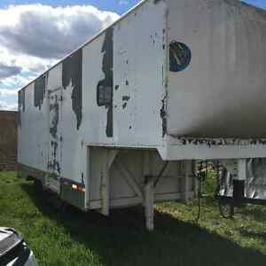 Horse and carriage trailer or storage