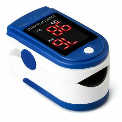 Us Finger Tip Pulse Oximeter Blood Oxygen Meter Spo2 - Ships Within 48 Hours