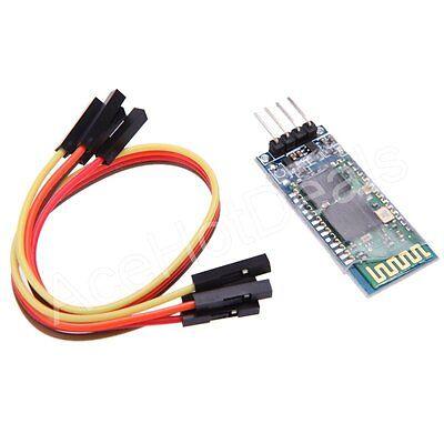 9.1m senza Fili Bluetooth RF Modulo Ricetrasmittente Serial Rs232 Ttl HC-06 per