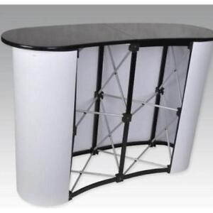 Business Trade Show Exhibit Counter Frame Portable Table Display 220167