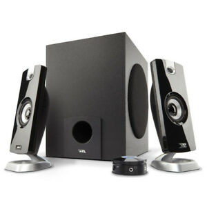 Cyber Acoustics CA-3090 2.1 Computer Speakers- Black