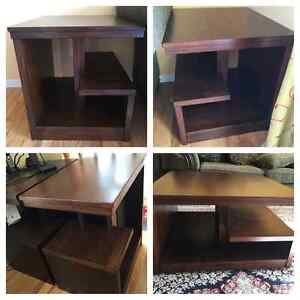 End table, 5 Pieces