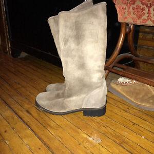 Diesel women's suede tall boots