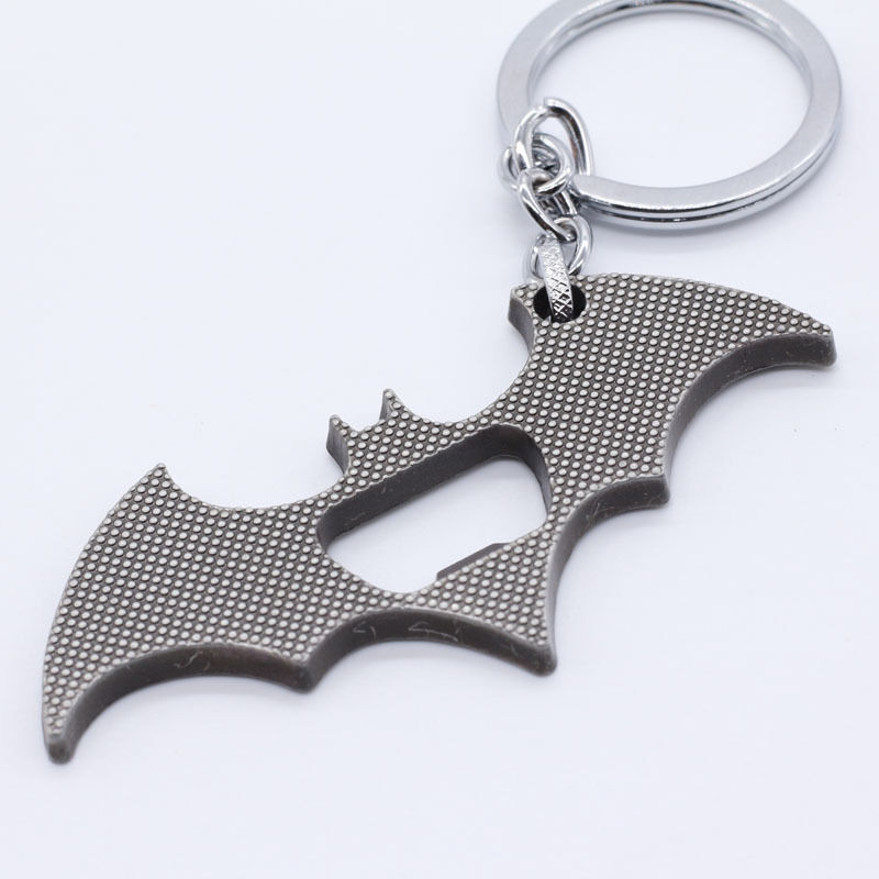 new batman design metal keyring keychain bottle opener cad picclick ca. Black Bedroom Furniture Sets. Home Design Ideas
