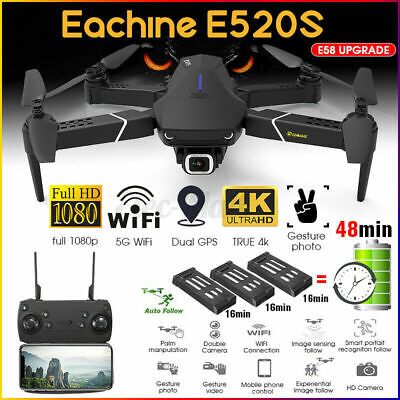 Eachine E520S GPS 5Ghz WIFI FPV Foldable Drone RC Quadcopter 4K HD Camera